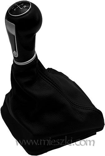 Leather gear shift boots Seat Ibiza